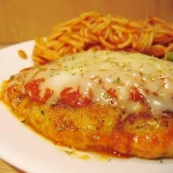Parmesan-Coated Italian Chicken Breasts Recipe