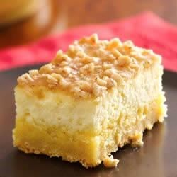 Photo of Creme Brulee Cheesecake Bars by Betty Crocker®