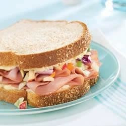 Photo of Apple Slaw Hamwiches by Weight Watchers