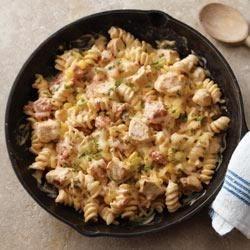 Photo of Southwest Pasta Skillet by PHILADELPHIA Cooking Creme