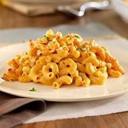 "Healthy ""Italian Mac and Cheese"" with Carrot Puree"