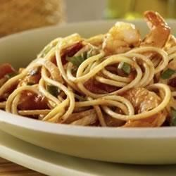 Spaghetti with Fennel and Shrimp