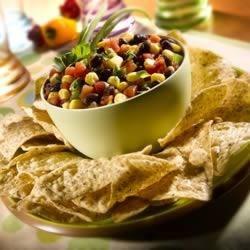 Fiesta Corn and Black Bean Toss