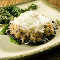 Crab-Stuffed Portobello Mushrooms Recipe