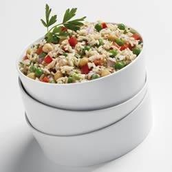 Chilled Asiago Rice Salad Recipe