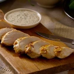 Blackened Chicken Breasts with Creole Mustard Sauce Recipe