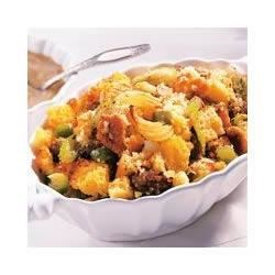 Sage Corn Bread Stuffing Recipe