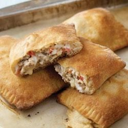 Sausage and Vegetable Calzones