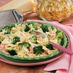 Photo of Broccoli Shrimp Pasta Toss by Natalie Van Viegen
