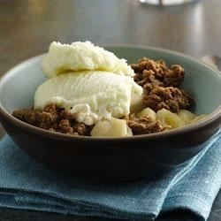 Apple Crisp from Gold Medal(R) Flour Recipe