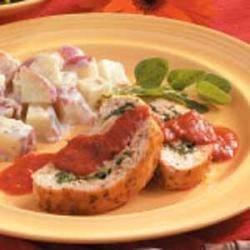 Photo of Spinach Turkey Roll by Delia  Kennedy