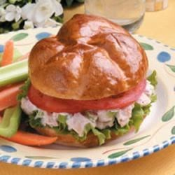 Photo of Barbecued Chicken Salad Sandwiches by Linda  Orme