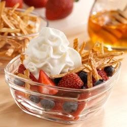 Upside-Down Fruit Nachos Recipe