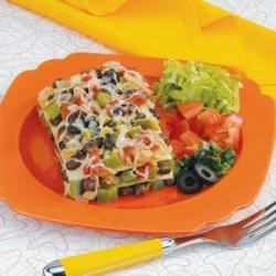 Photo of Black Bean Tortilla Casserole by Sue  Briski