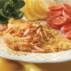 Dilled Sole with Almonds