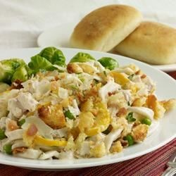 Tasty Turkey Tetrazzini