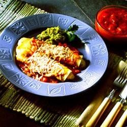Cheese Enchiladas with Green Chiles Recipe