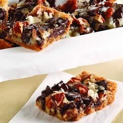 Chocolate Chunk Magic Cookie Bars Recipe