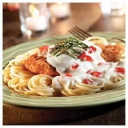 No-fry White Chicken Parmigiano Recipe