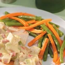 Photo of Herbed Beans and Carrots by Taste of Home Test Kitchen