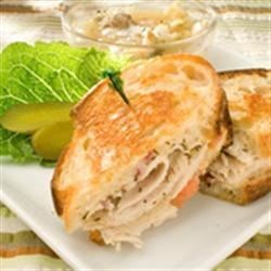 Tangy Turkey and Swiss Sandwiches Recipe