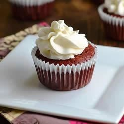 Gluten-Free, Sugar-Free Red Velvet Cupcakes With Sugar-Free Cream Cheese Frosting Recipe
