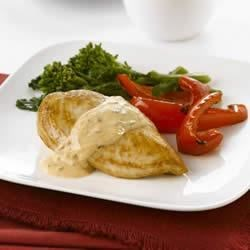 Chicken with Creamy Tomato Basil Sauce Recipe