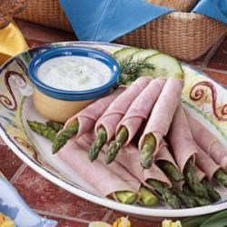 Photo of Ham N Asparagus Roll-Ups by Mary  Steiner