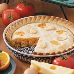 Photo of Double-Crust Onion Quiche by Ruth  Lee