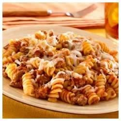 Skillet Pasta and Beef Dinner Recipe