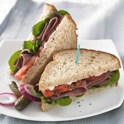 Roast Beef and Arugula Sandwich Recipe