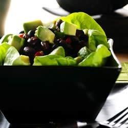Avocado Asian Black Bean Salad Recipe