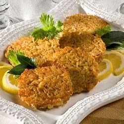 Amazin' Crab Rice Cakes Recipe