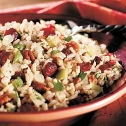 Cranberry Pecan Brown Rice Stuffing Recipe