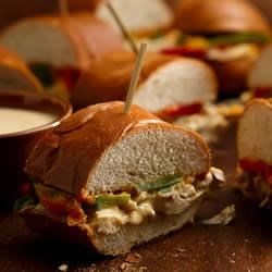 Baked Turkey Hoagie Recipe