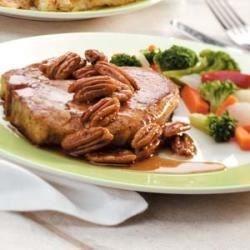 Photo of Maple-Pecan Pork Chops by Taste of Home Test Kitchen