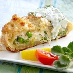 Photo of RWOP Finalist: Salmon Wrapped in Pastry with Cucumber Sauce by PHILADELPHIA Cream Cheese