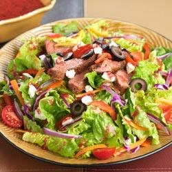 Photo of Replaced - Blackened Steak Salad with Berry Vinaigrette by Dole