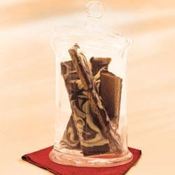 Photo of Marbled-Chocolate Treats by Kraft Desserts
