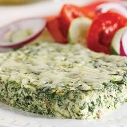 Photo of Spinach and Mushroom Frittata by Campbell's Kitchen