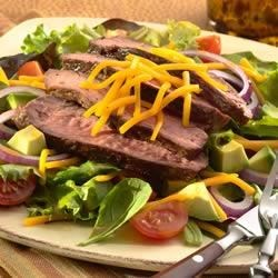 Grilled Pepper Steak Salad Recipe