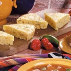 Photo of Chili Corn Bread Wedges by Taste of Home Test Kitchen