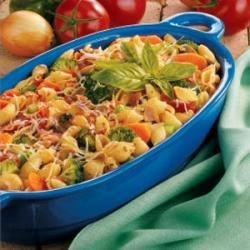 Photo of Bacon 'N' Veggie Pasta by Muriel  Hollenbeck