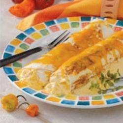 Photo of Easy Chicken Enchiladas by Cheryl  Pomrenke
