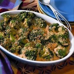 1-2-3 Cheddar Broccoli Casserole Recipe