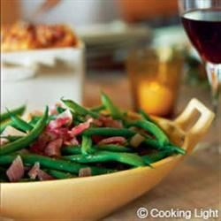 Photo of Green Beans with Roasted Onion Vinaigrette by Safeway