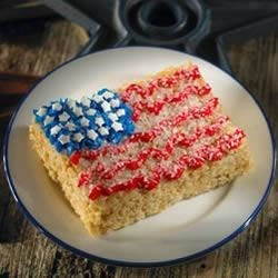 Photo of Star-Spangled Banner Treats™ by Kellogg's® Rice Krispies®