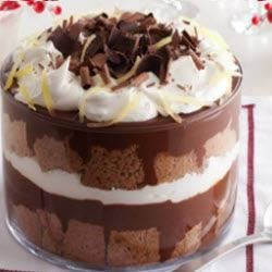 Chocolate Gingerbread Trifle