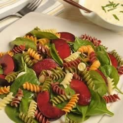 Wacky Mac® and Plum Summer Salad