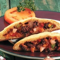 Barbecue Beef and Potato Turnovers Recipe